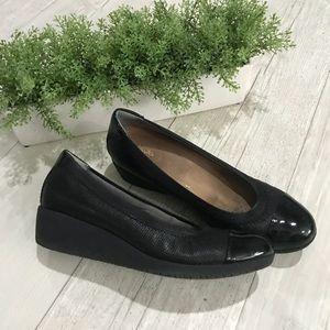 Clarks Wedge Shoe
